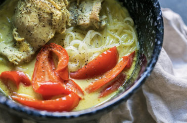 Chicken Curry Noodle Low Calorie Recipe